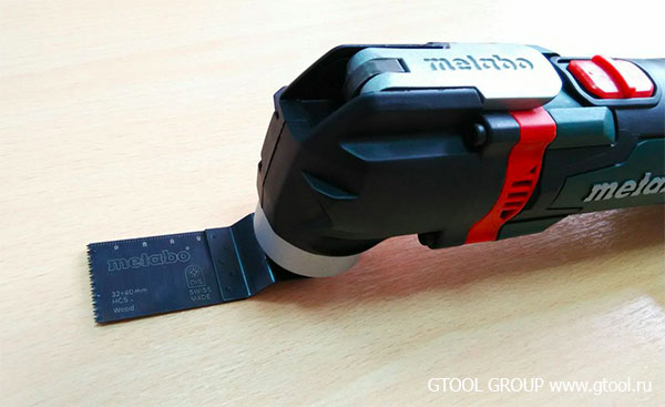 Metabo Multitool MT 18 LTX С насадками